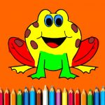 BTS Funny Frog Coloring Book