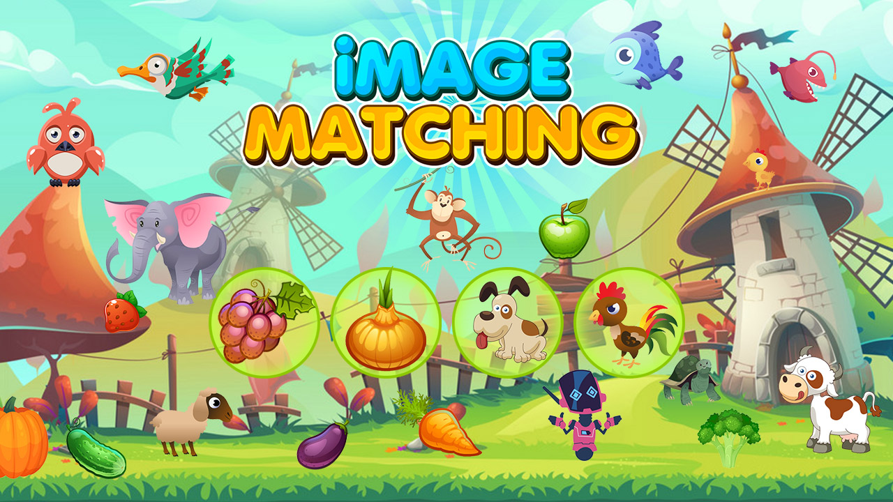 Image Image Matching Educational Game