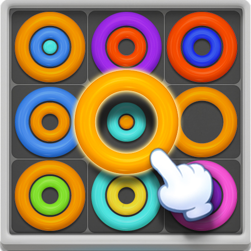 Image Neon Circles & Color Sort Puzzle
