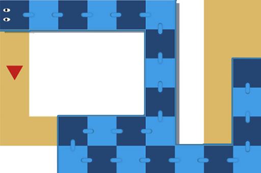 Image Snake Swipe Puzzle