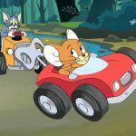 Tom and Jerry Car Jigsaw