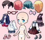 Chibi Anime Princess Doll