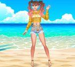 Mermaid's Cool Sea Necklace