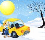 Snow Cars Jigsaw